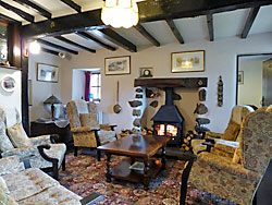 Sitting room, cottage, Great Langdale