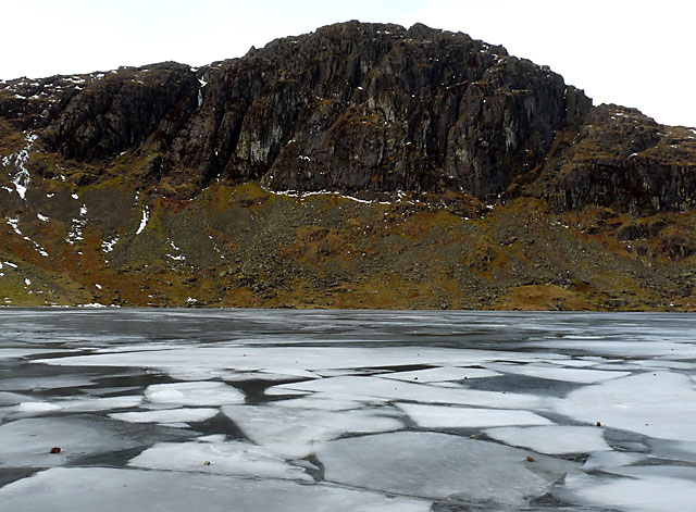 Stickle Tarn and Pavey Ark.